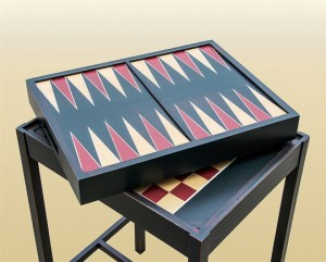 Stars & Stripes Backgammon Table Top