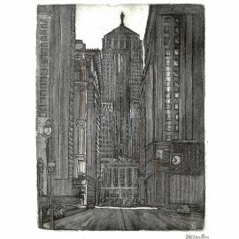 LaSalle St and the Board of Trade
