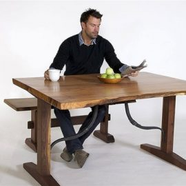 Swanton Live Edge Table