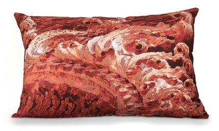 Rocco Red Pillow