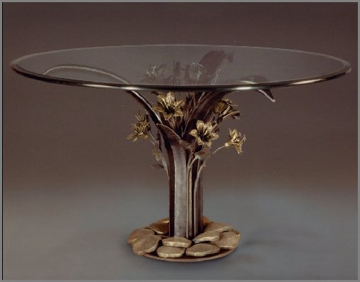 Iron Lily Dining Table