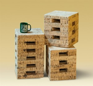 Cork Stools and Tables