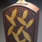 Keystone Lamp in Brick Detail