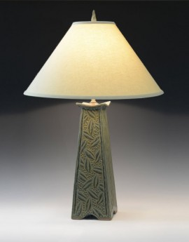Mission Lamp in Sage