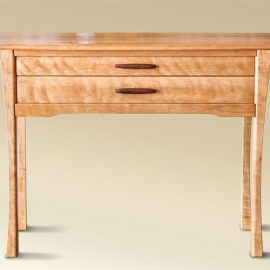 Two Drawer Cherry Console