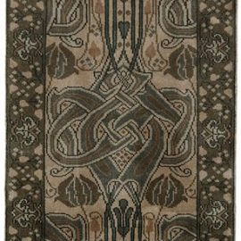 Sage Celtic Knot Runner