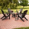 Seashell Adirondack 5 piece Set