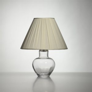 Shelburne Lamp with Silk Pleated Shade