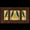 Songbird Frame Tile Set in Oak