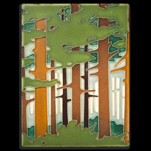 Spring Woodland Tile