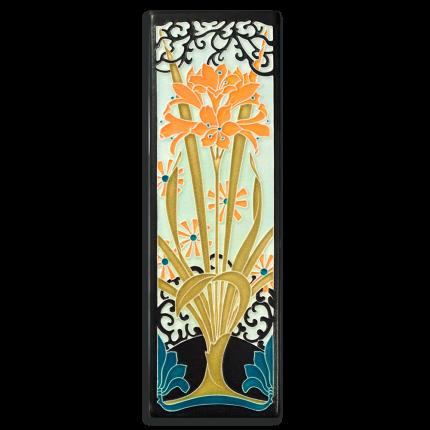 Tangerine Amaryllis Tile