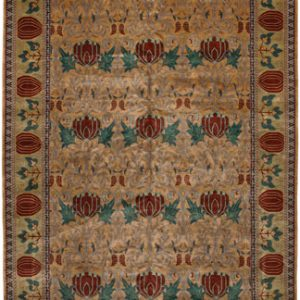 The Oak Park Rug in Gold