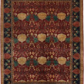 The Oak Park Rug in Red
