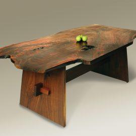 Organic Live Edge Wells Table
