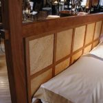 Windoepane High Post Bed Headboard Detail