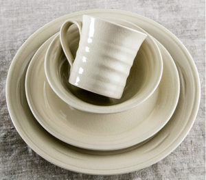 Belmont Crackle Ivory Place Setting