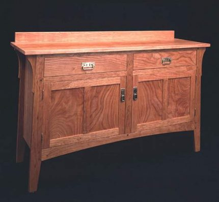 Prairie Two Door/Drawer Sideboard