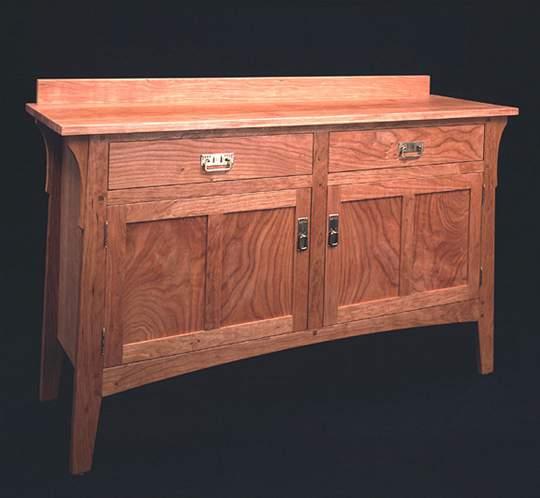 Prairie Two Door/Drawer Sideboard