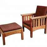 Adjustable Lounge Chair with Ottoman