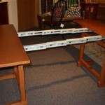 Trestle Table extended