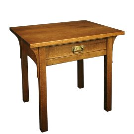 Prairie End Table with Drawer