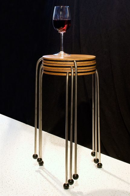 Round Stacking Side Table Set