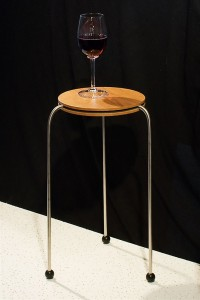 Round Stacking Side Table Single