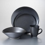Barre Slate Dinnerware Set with Pasta Bowl
