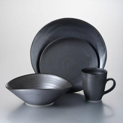 Barre Slate Dinnerware Set with Pasta Bowl