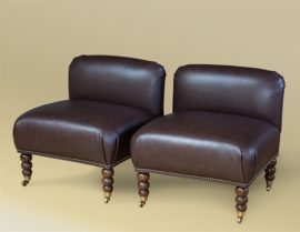 Pair of Perching Chairs