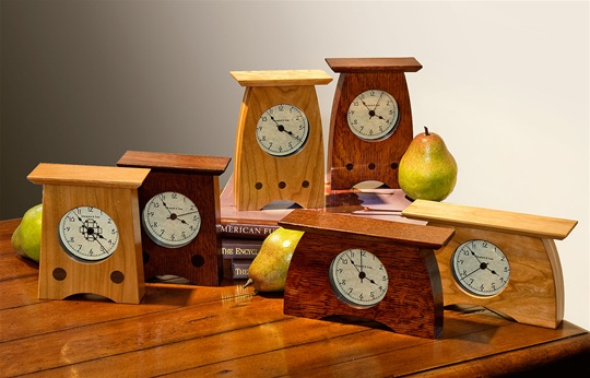 Small Arts & Crafts Clocks