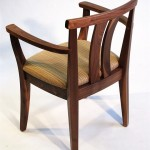 Asian Arm Chair (rear view)