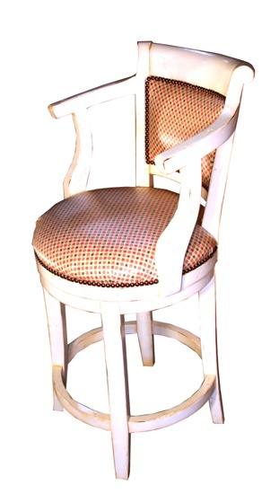 Clifford Bar Stool - Upholstered Back