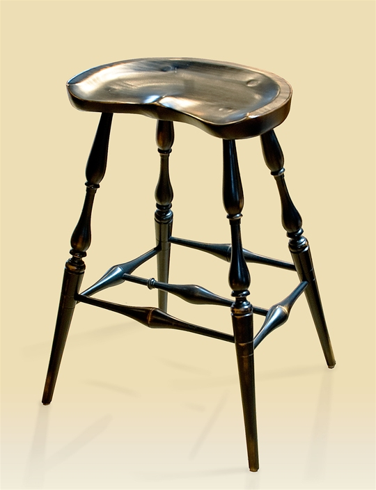 Windsor Backless Bar Stool