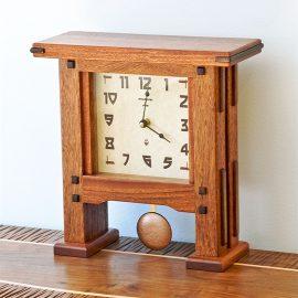 Greene & Greene Style Pendulum Clock