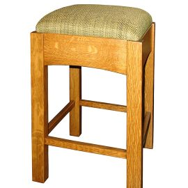 Backless Arts & Crafts Stool