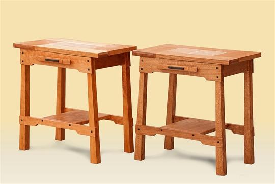 Tile Top Side Tables