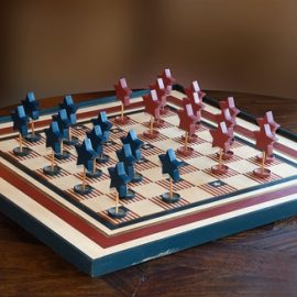 Stars & Stripes Chess Set