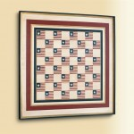Stars & Stripes Board Wall Art
