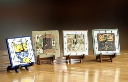 """Cloquette"" Square Mini Clocks"