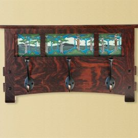 Schlabaugh & Motawi Coat Rack