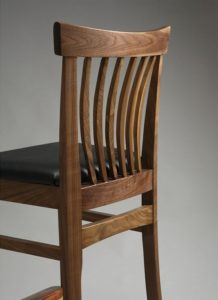 Winged Bar Chair (rear view)
