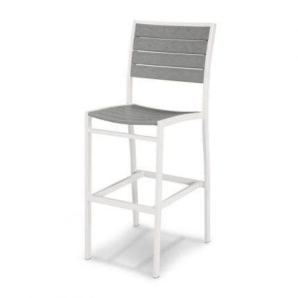 Euro Bar Side Chair Slate Grey