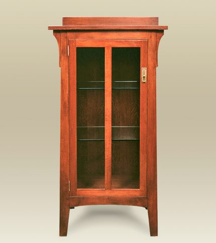 Arts & Crafts Single Door Cabinet
