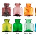 Colorful Water Bottles Color Choices