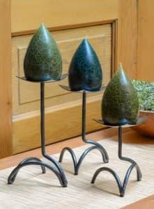 Tricorner Saucer Candlestick Set