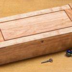 Small Dovetail Jewelry Box - Cherry