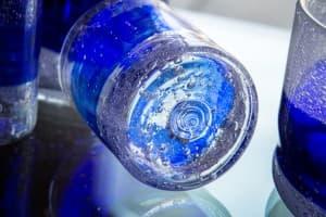 Glass Tumbler Bottom Mark