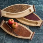 Cheese & Cracker and Bread or Sushi Serving Boards