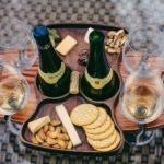 Fine Wine Caddy - 2 Bottles 4 Glasses